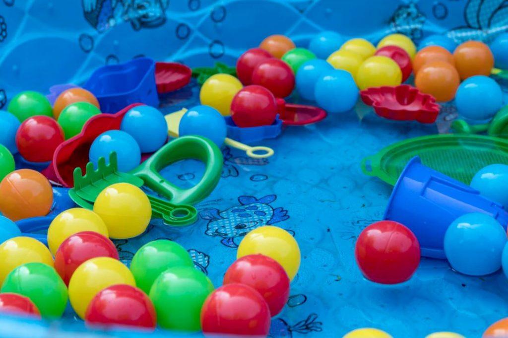piscine à balles pour bébé