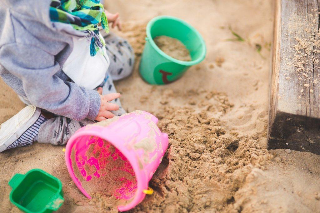 sable à modeler pour enfant
